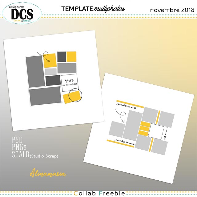 DCS : des templates multiphotos