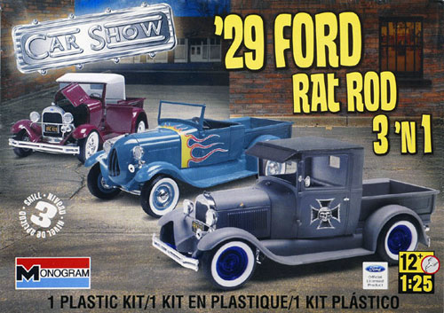 Ford 29 pick up roadster Revell10