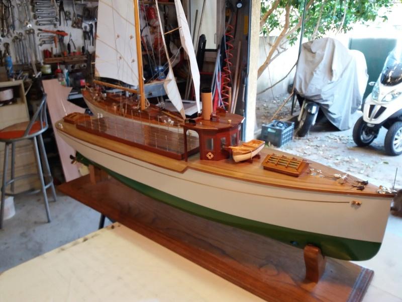 Yacht  classique à moteur 1920 / 1930 NEMESIS - Page 4 20170314