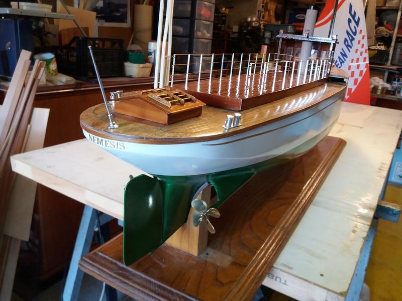 Yacht  classique à moteur 1920 / 1930 NEMESIS - Page 4 20170316