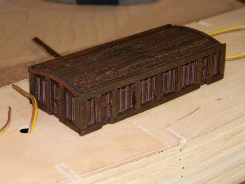 Meine Cutty Sark von delPrado wird gebaut Deck_310