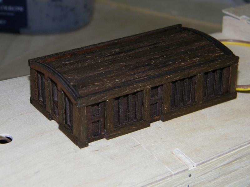 Meine Cutty Sark von delPrado wird gebaut Deck_510