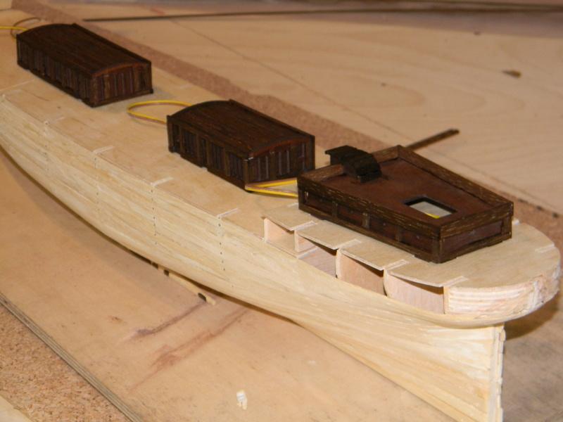 Meine Cutty Sark von delPrado wird gebaut Deck_710