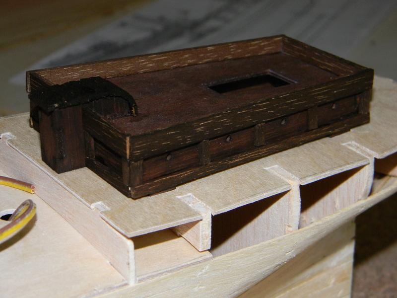 Meine Cutty Sark von delPrado wird gebaut Deck_711