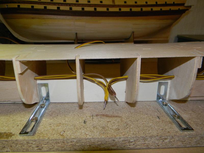Meine Cutty Sark von delPrado wird gebaut Rumpf_14