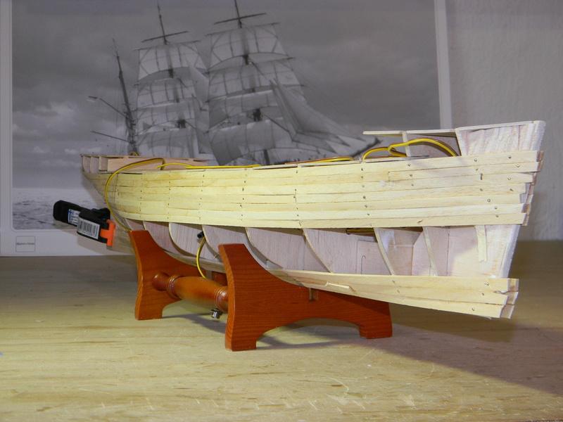 Meine Cutty Sark von delPrado wird gebaut Rumpf_19