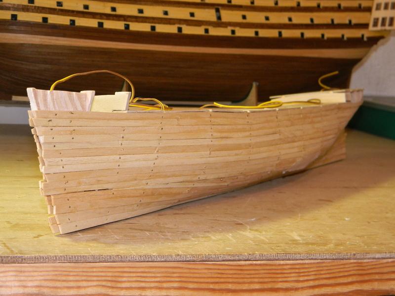 Meine Cutty Sark von delPrado wird gebaut Rumpf_22
