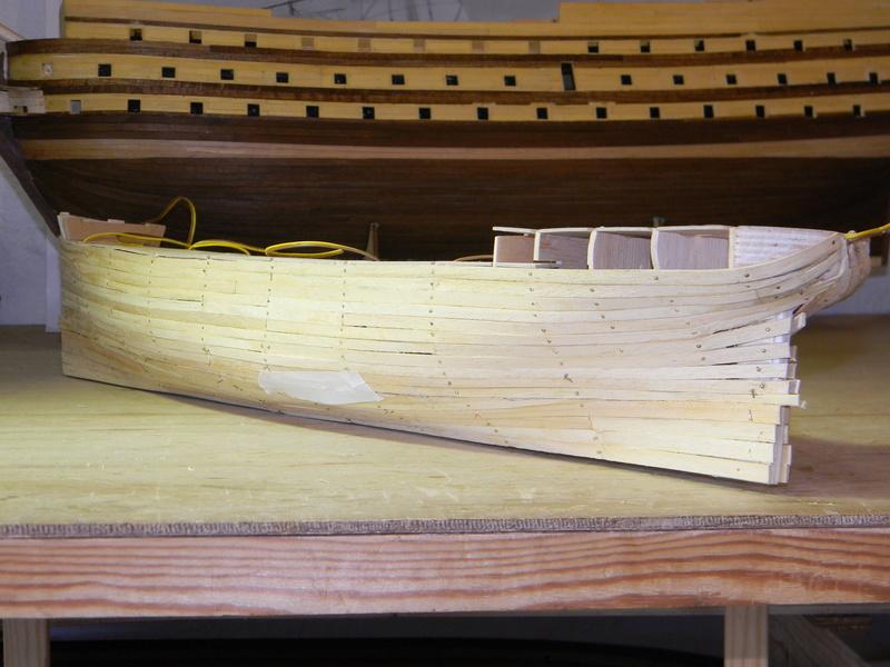 Meine Cutty Sark von delPrado wird gebaut Rumpf_23
