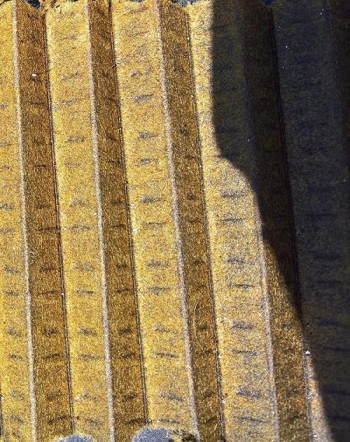 Minuscules particules métalliques dans le filtre à huile Wp_20111