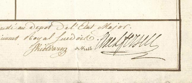 Ecrits du comte Hans Axel von Fersen Zzz611
