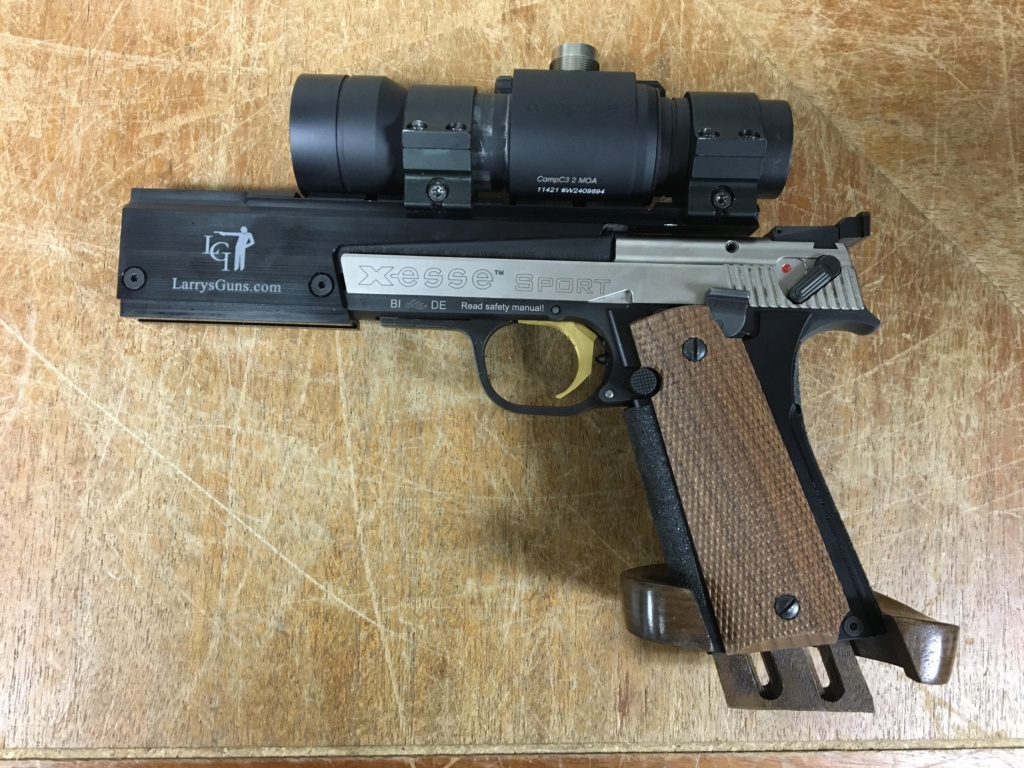 CMM Shooting Sports 1911 Grip Adapter - Hammerli Xesse 883dc010