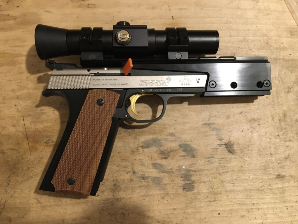 CMM Shooting Sports 1911 Grip Adapter - Hammerli Xesse Img_3417