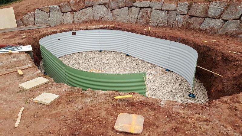 profondeur excavation / Gravier de drainage / plot réglable ? Compre10