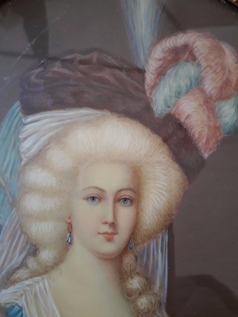 Déclinaisons faites d'après le portrait de Marie Antoinette et ses enfants de Vigée Lebrun _5718