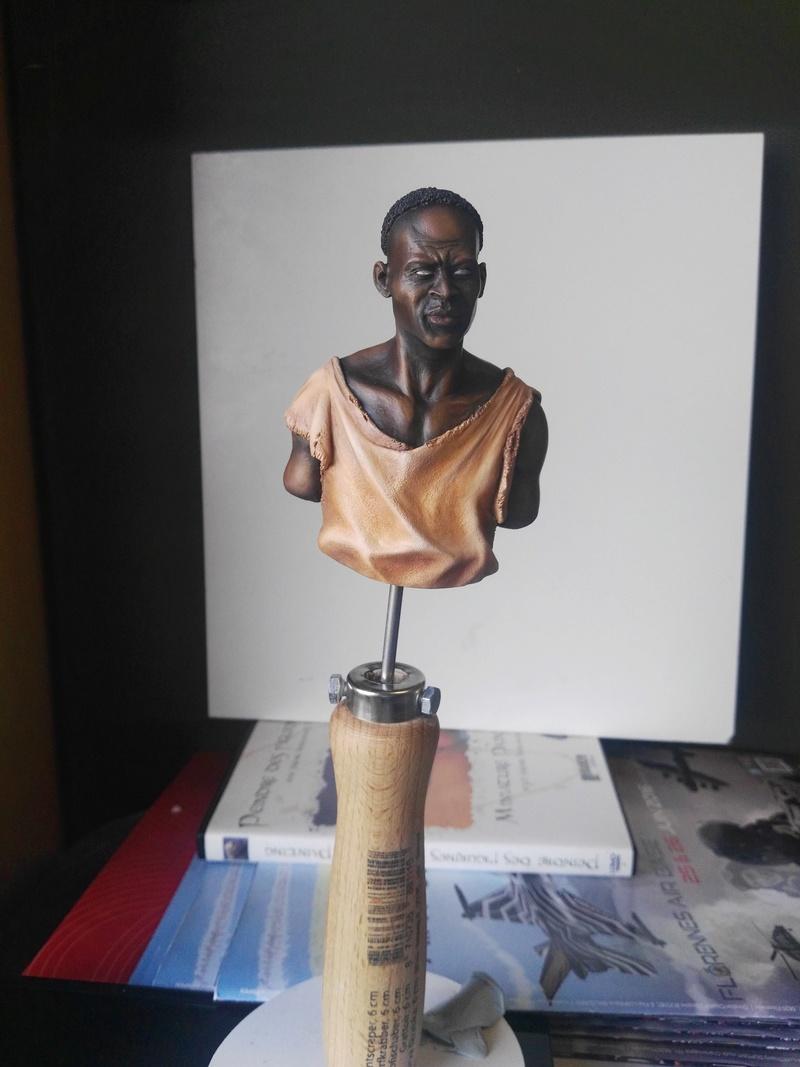 SMC Veldhovern Médaille de Bronze pour mon Buste Juba (Film Gladiator) 1/9 Mitches Military Model  Img_2019