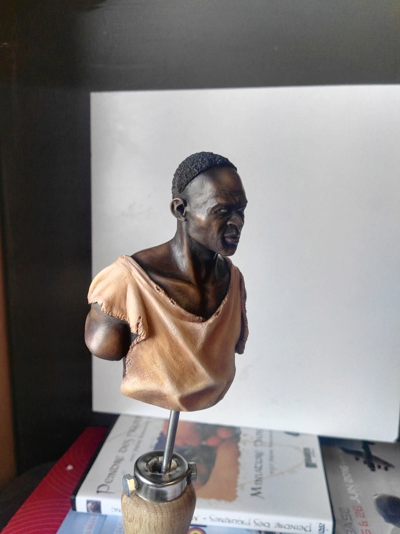 SMC Veldhovern Médaille de Bronze pour mon Buste Juba (Film Gladiator) 1/9 Mitches Military Model  Img_2020