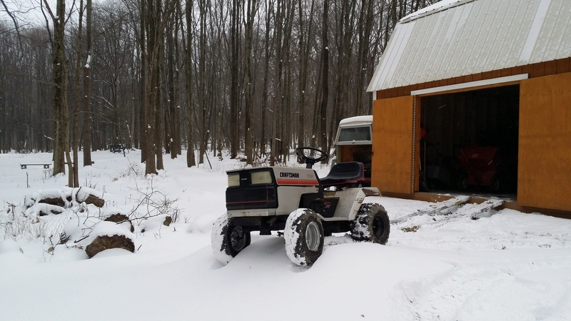 Dustin's 1986 Craftsman Woods Tractor - Full Suspension, Electric Conversion 20170313