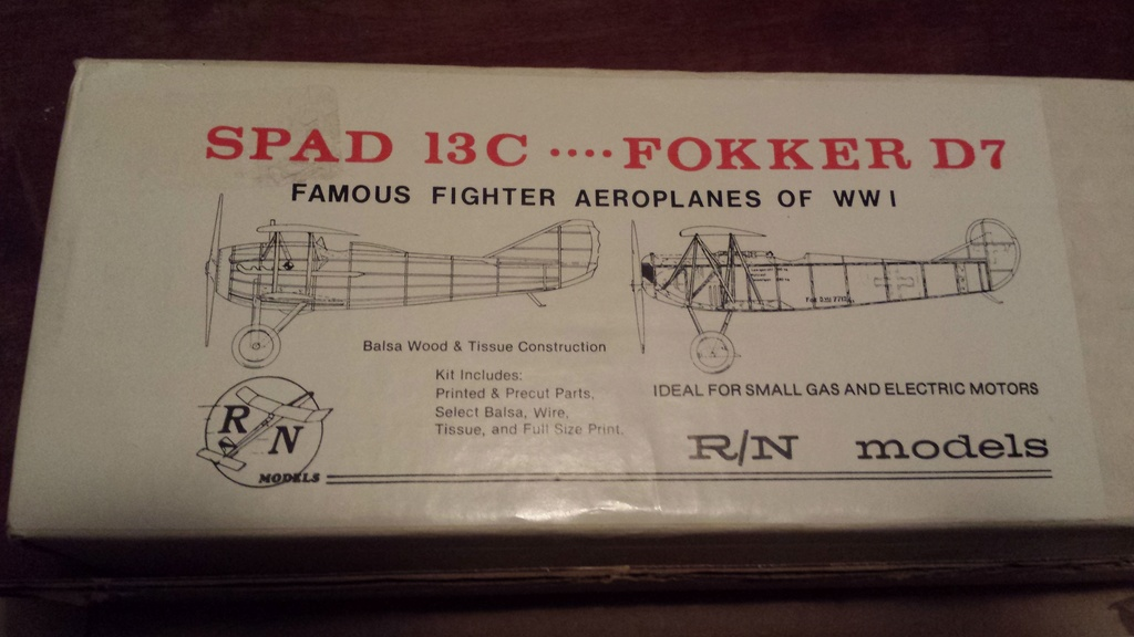 R/N Spad/D7 kit and Shive DR-1 20180611