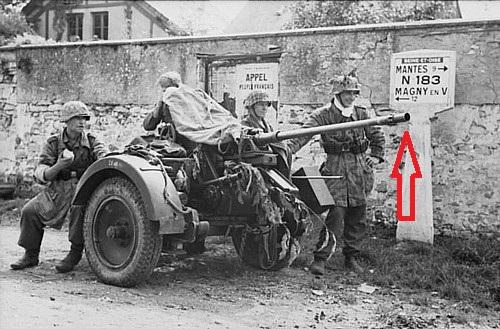 cache flamme de 20mm flak 38 6181fl10