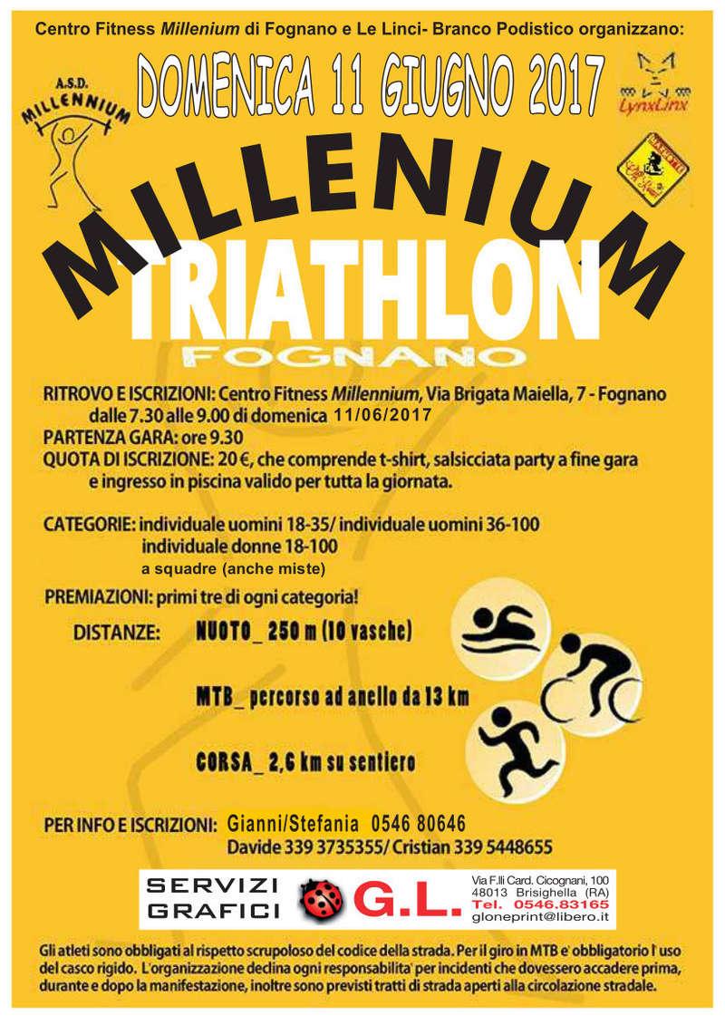 [Triathlon MTB] Millenium Triathlon Fognano - Fognano di Brisighella (RA) - domenica 11/06/2017 Locand10