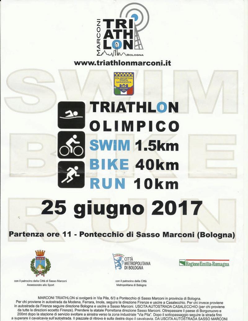 Triathlon olimpico Pontecchio di Sasso Marconi - domenica 25 giugno 2017 Sosso_10