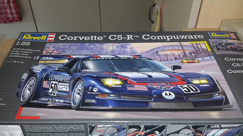 CORVETTE C5R COMPUWARE LE MANS 2003 12821310