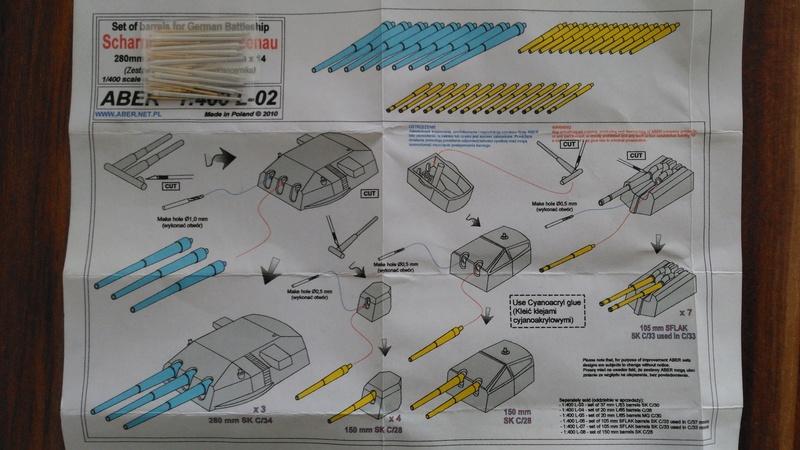 Bausatz Scharnhorst / Heller 1:400 Img_2073