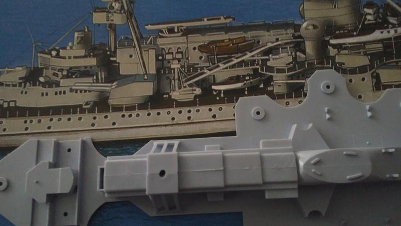 Bausatz Scharnhorst / Heller 1:400 Img_2105