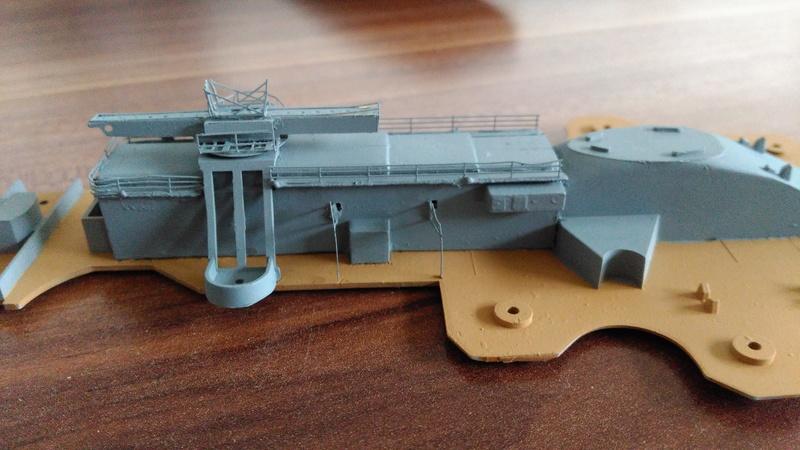 Bausatz Scharnhorst / Heller 1:400 Img_2110
