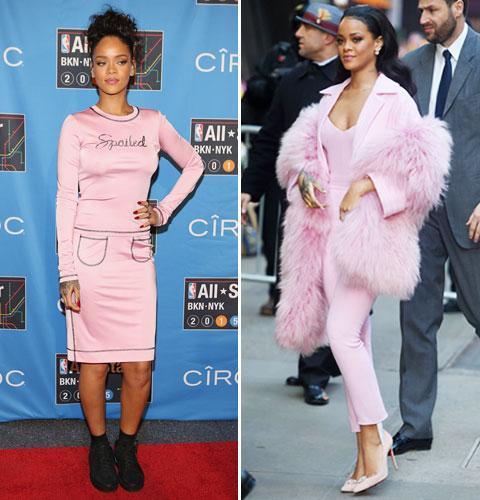 Rock rihannas style: Get fashion inspiration and  Steal the beauties many looks. 03231510
