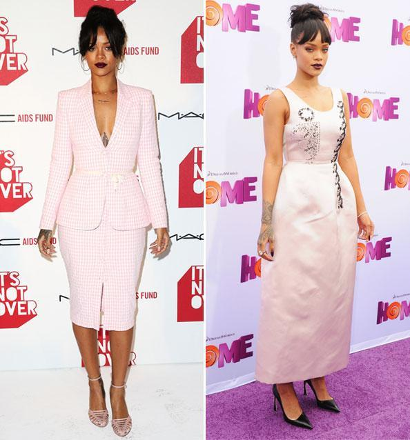 Rock rihannas style: Get fashion inspiration and  Steal the beauties many looks. 03231511
