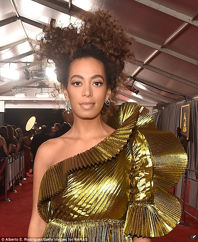 be bbold in gold like solange knowles 3d250c10