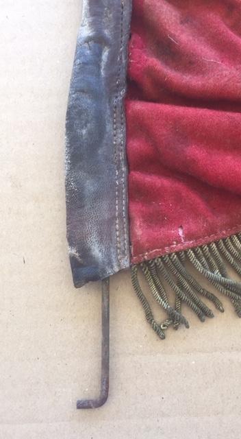 Fanion ancien de la Légion Etrangère avec chiffre 1 / peloton Winterpeltz Img_1525
