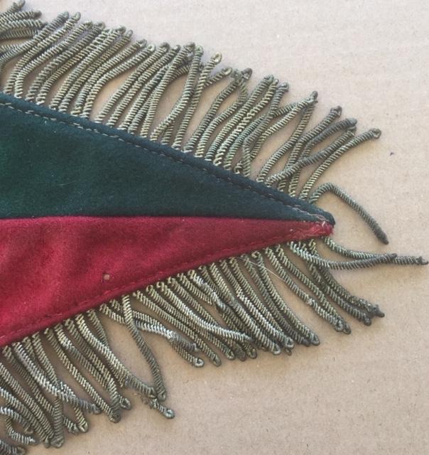 Fanion ancien de la Légion Etrangère avec chiffre 1 / peloton Winterpeltz Img_1527