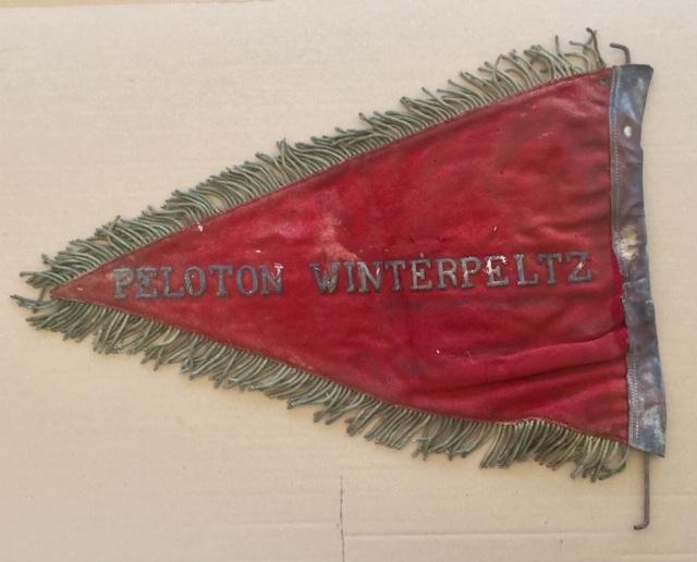 Fanion ancien de la Légion Etrangère avec chiffre 1 / peloton Winterpeltz Img_1529