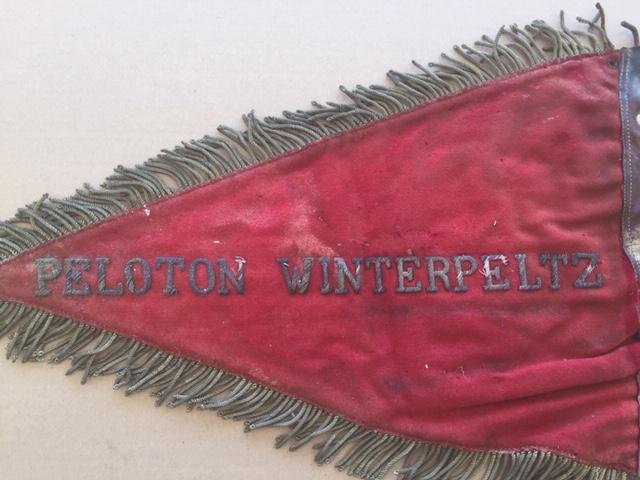 Fanion ancien de la Légion Etrangère avec chiffre 1 / peloton Winterpeltz Img_1531