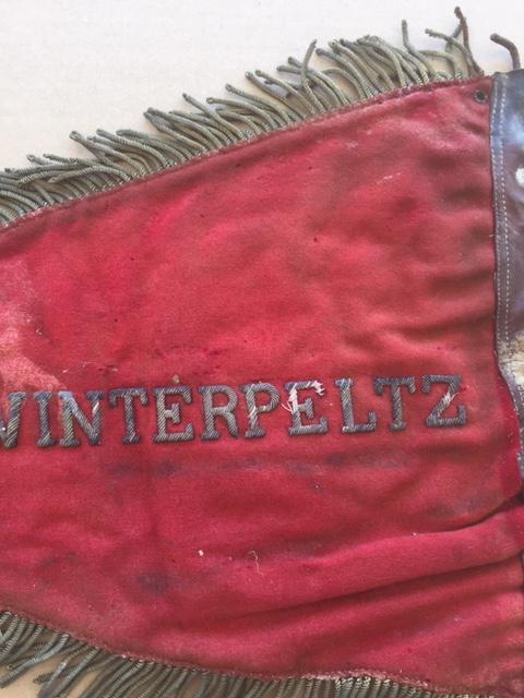 Fanion ancien de la Légion Etrangère avec chiffre 1 / peloton Winterpeltz Img_1533