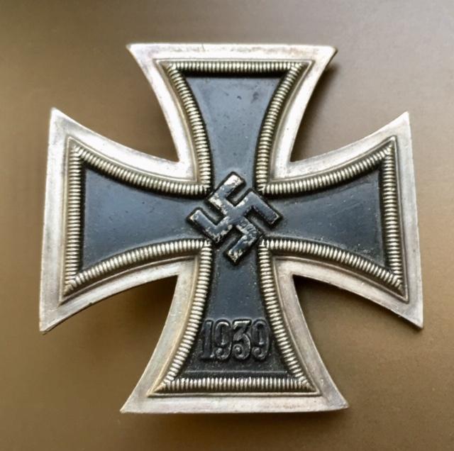 Croix de fer de première classe / code 50 Karl Gschiermeister à Vienne Img_2828