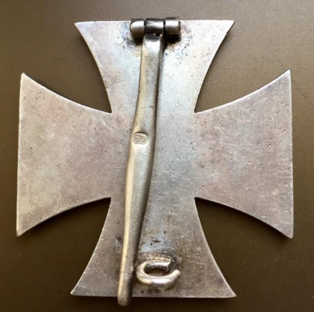 Croix de fer de première classe / code 50 Karl Gschiermeister à Vienne Img_2829