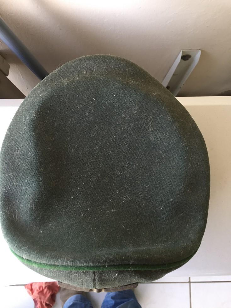 Casquette officier WH liseré vert Img_3911
