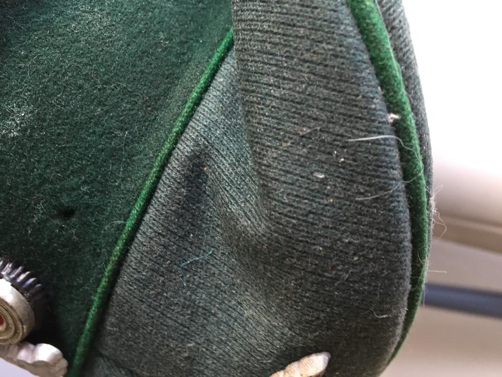 Casquette officier WH liseré vert Img_3919