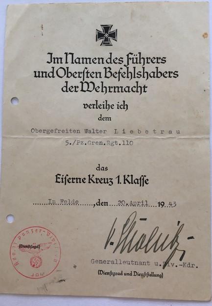 Diplôme EKI signé Dietrich VON CHOLDTIZ Img_e516