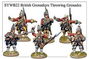 Grenadiers anglais Wargames Foundry pour la guerre de sept ans 17191310