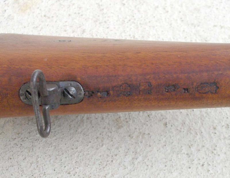 Fusil Chassepot de prise 1110