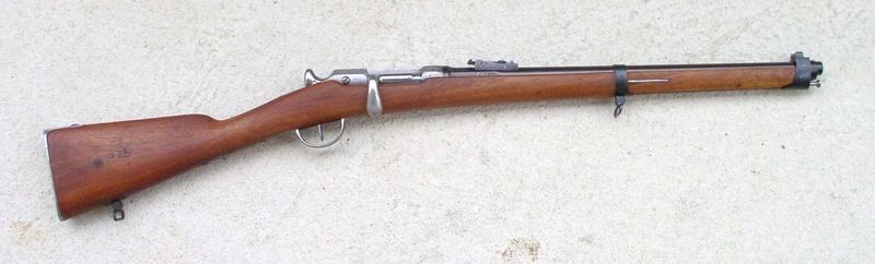 Fusil Chassepot de prise 117