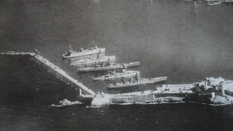 Diorama Dunkerque à Mers el-kébir juillet 1940, Heller 1/400 P1220010