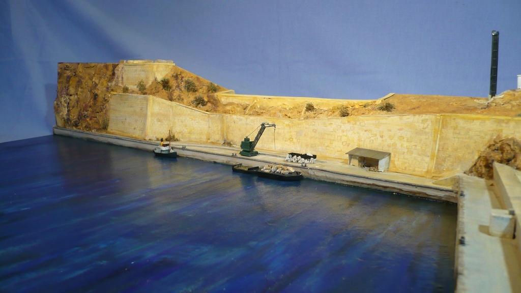 Diorama Dunkerque à Mers el-kébir juillet 1940, Heller 1/400 P1230618