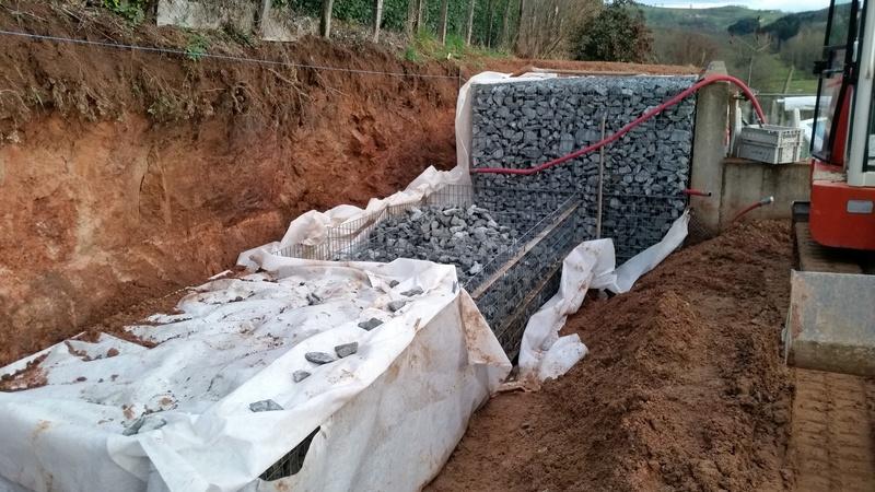 Mur de soutènement en GABION ! 20170214