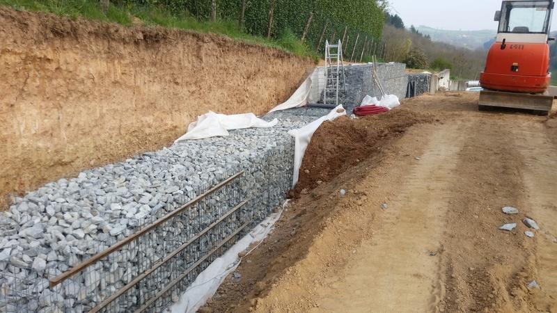Mur de soutènement en GABION ! 20170411