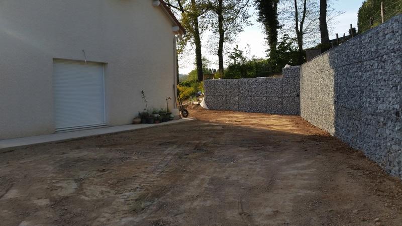 Mur de soutènement en GABION ! 20170415